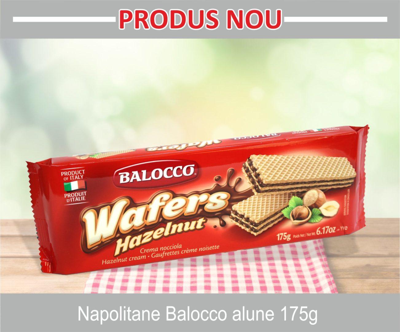 Napolitane Balocco alune