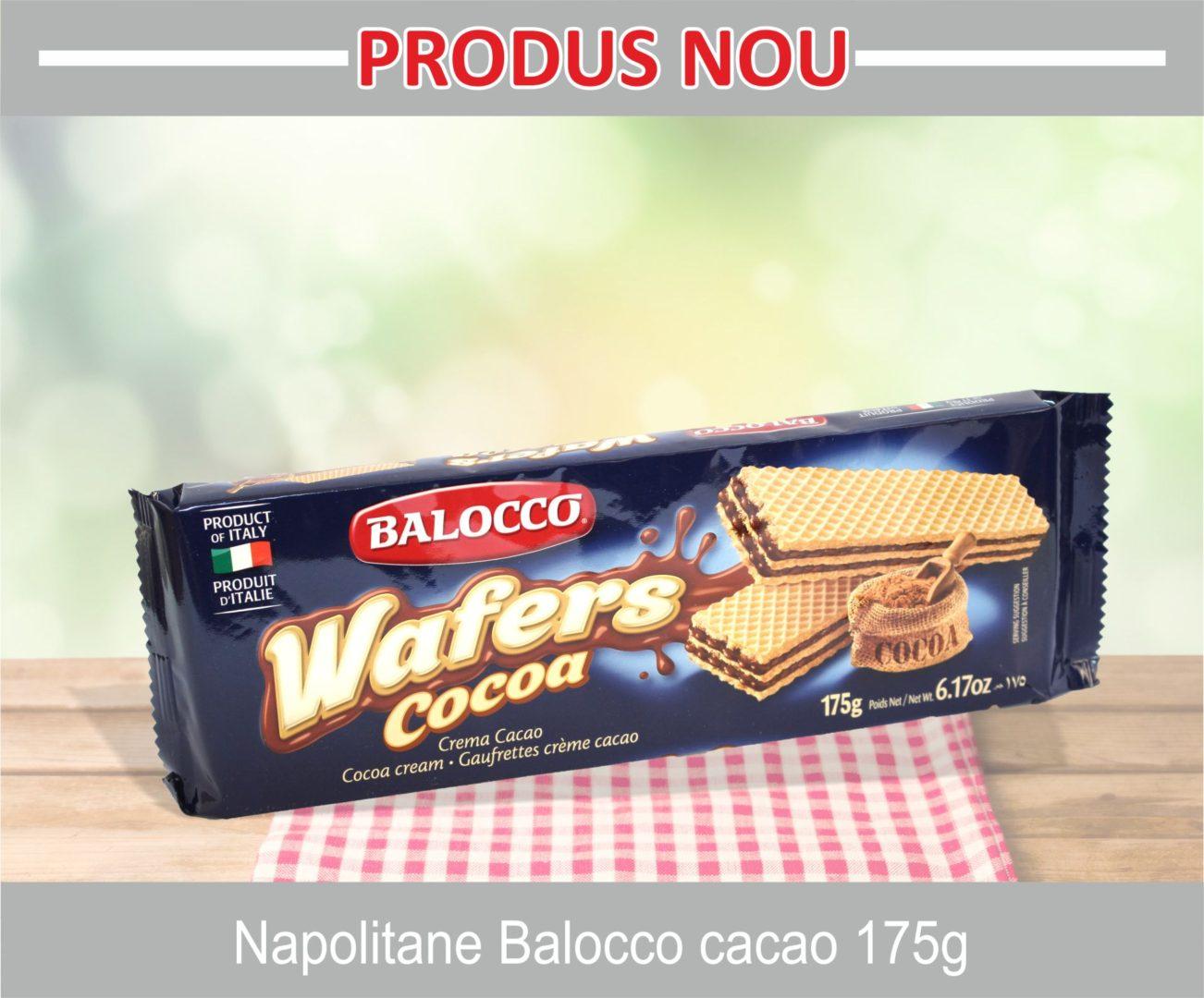 Napolitane Balocco cacao