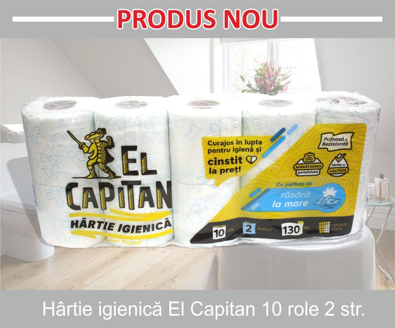 hartie igienica el capitan 10 role