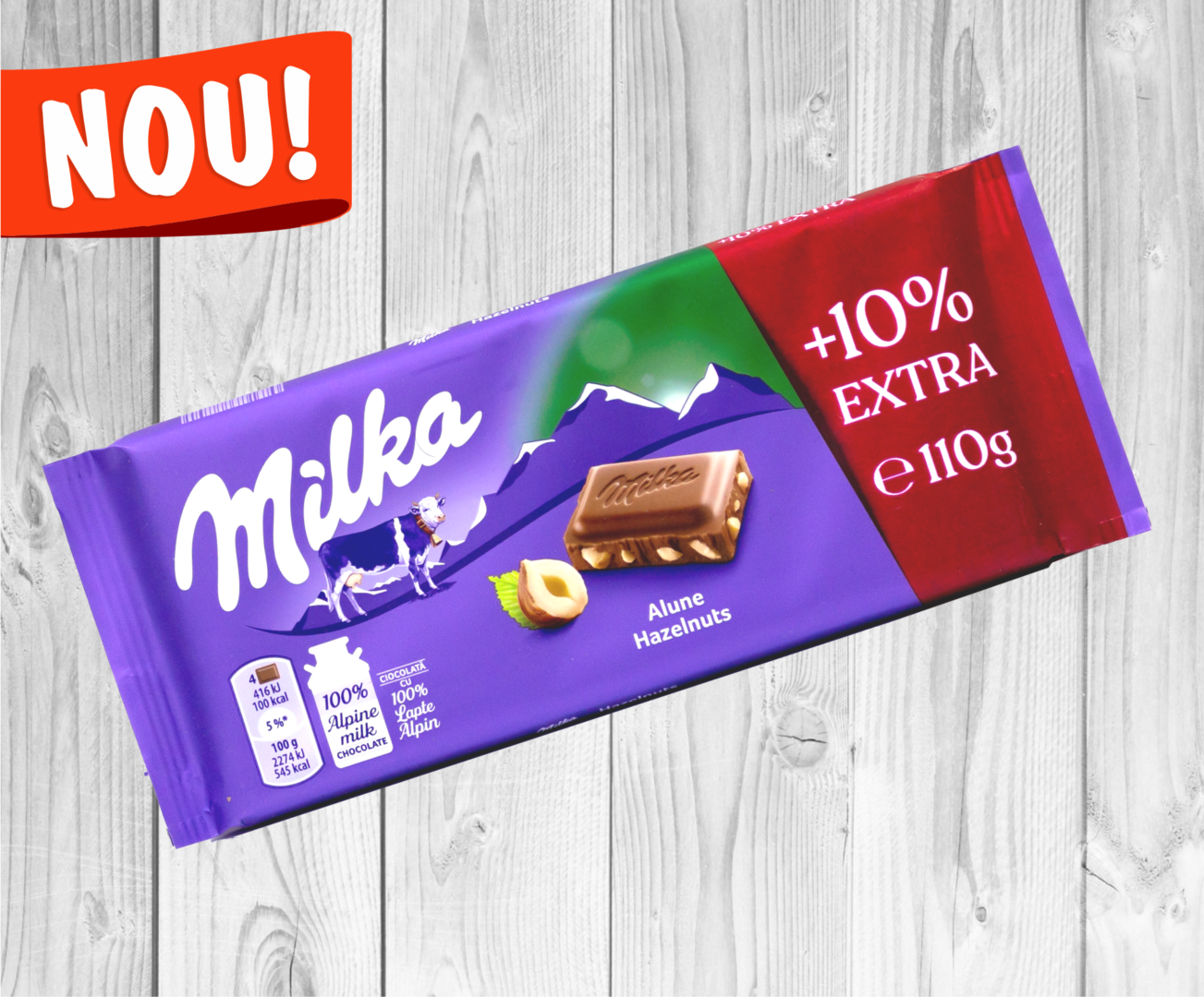 milka +10%